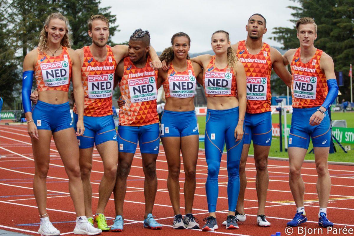 Mixed relays in de maak